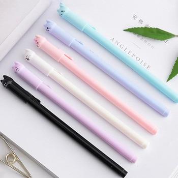 1pcs Cartoon Expression Highlighter Pen Mini Marker Pens Kawaii Stationery Material Escolar Writing School Supplies