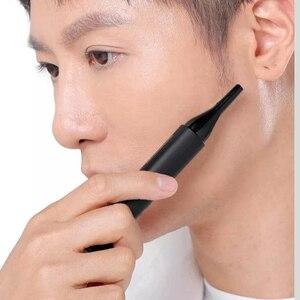 Image 5 - Youpin doppia taglierina LED naso elettrico tagliacapelli tempio sopracciglio rasoio Clipper impermeabile 2 in 1 strumento di pulizia sicuro a doppia lama