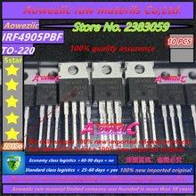 Aoweziic 2018 + 100% новый импортный оригинальный транзистор IRF4905PBF IRF4905 TO 220 с полевым эффектом 74A 55 в