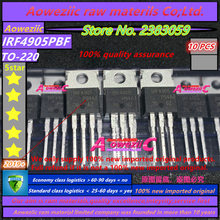 Aoweziic  2018+  100% new imported original  IRF4905PBF IRF4905 TO 220 field effect transistor 74A 55V