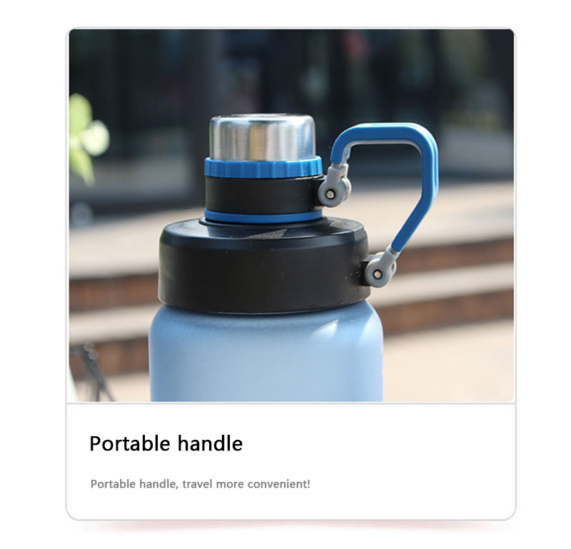 Hc5348a326dec4aceb691593c9cd62660H Kettle 850ML large capacity plastic water dispenser travel student outdoor sports school portable scrub leak cup drinking bottle