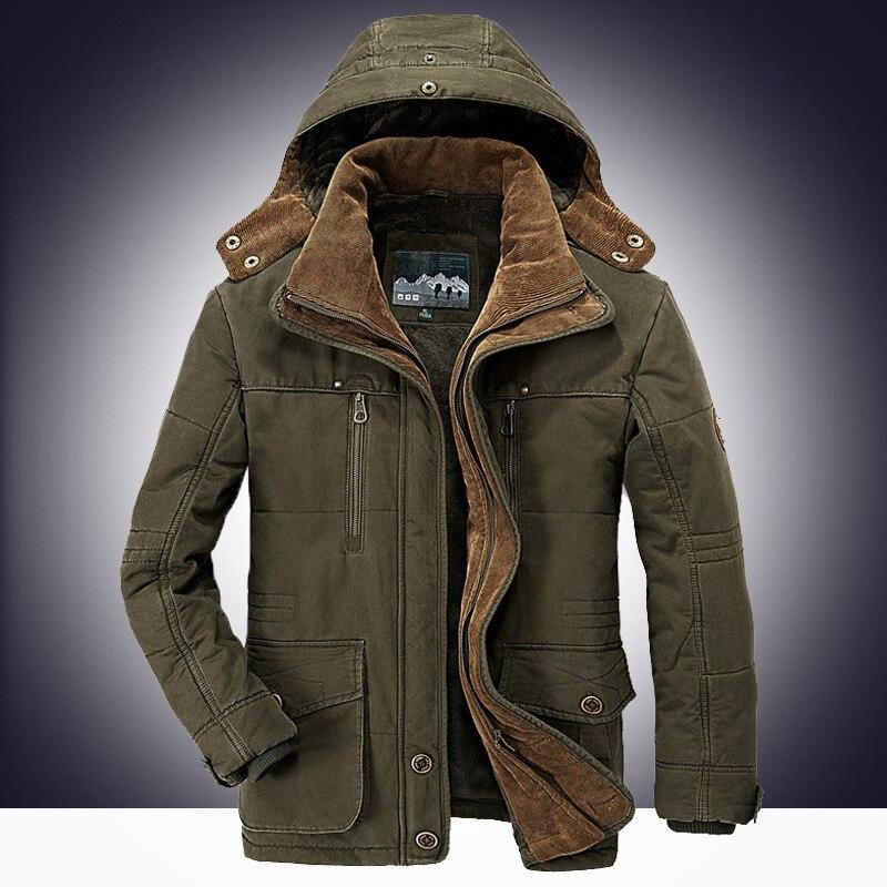 Men's Cotton Clothing,Men's Winter Clothing,Multi-pockethood Men's Cotton Clothing,Thick Cotton Clothing Men,Men Winter Coat