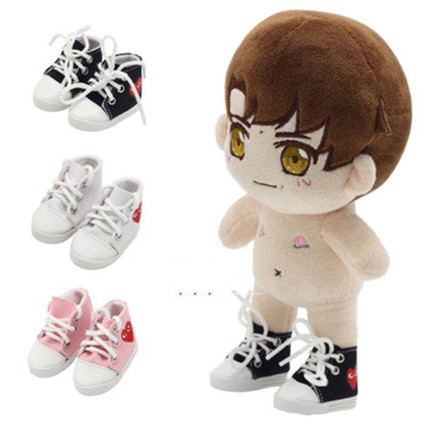 20cm Exo Doll Got7 Doll Use Heart Shoes Plush Stuffing Doll Sports Shoes