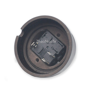 Image 5 - 4pcs High Quality Home Improvement Retro EU Ceramic Knob Switch Wall Light Rotary Switch 10A