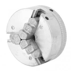 Drill-Chuck Lathe-Machine-Tool Self-Centering Metal-3-Jaw Z011 Mini Manual with Key
