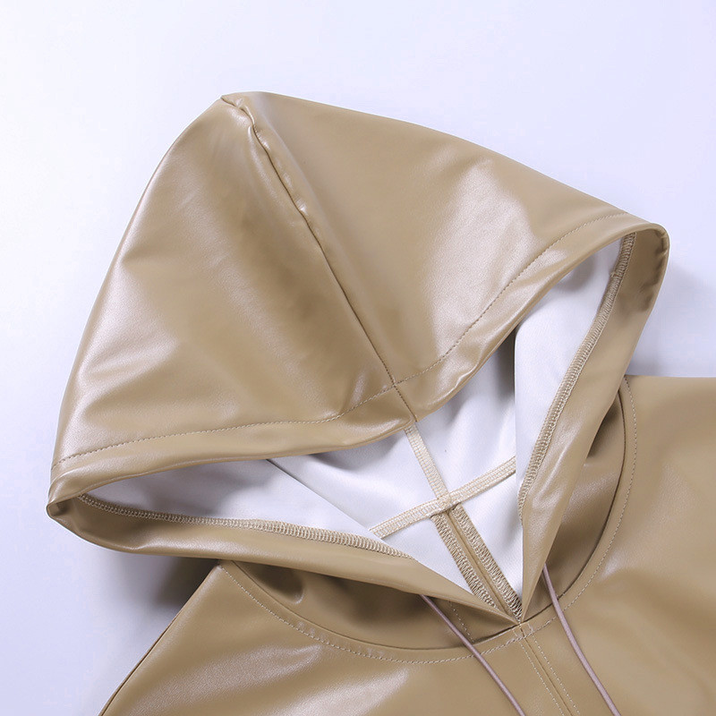 pu hoodies women 18