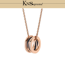 Bulgaria necklace 1:1 Original 100% 925 Sterling Silver Women Free Shipping Jewelry High-end Quality Gift Have logo