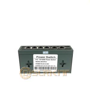 Image 2 - DSLRKIT enjektör Power Over Ethernet 5 port 4 PoE anahtarı güç adaptörü olmadan