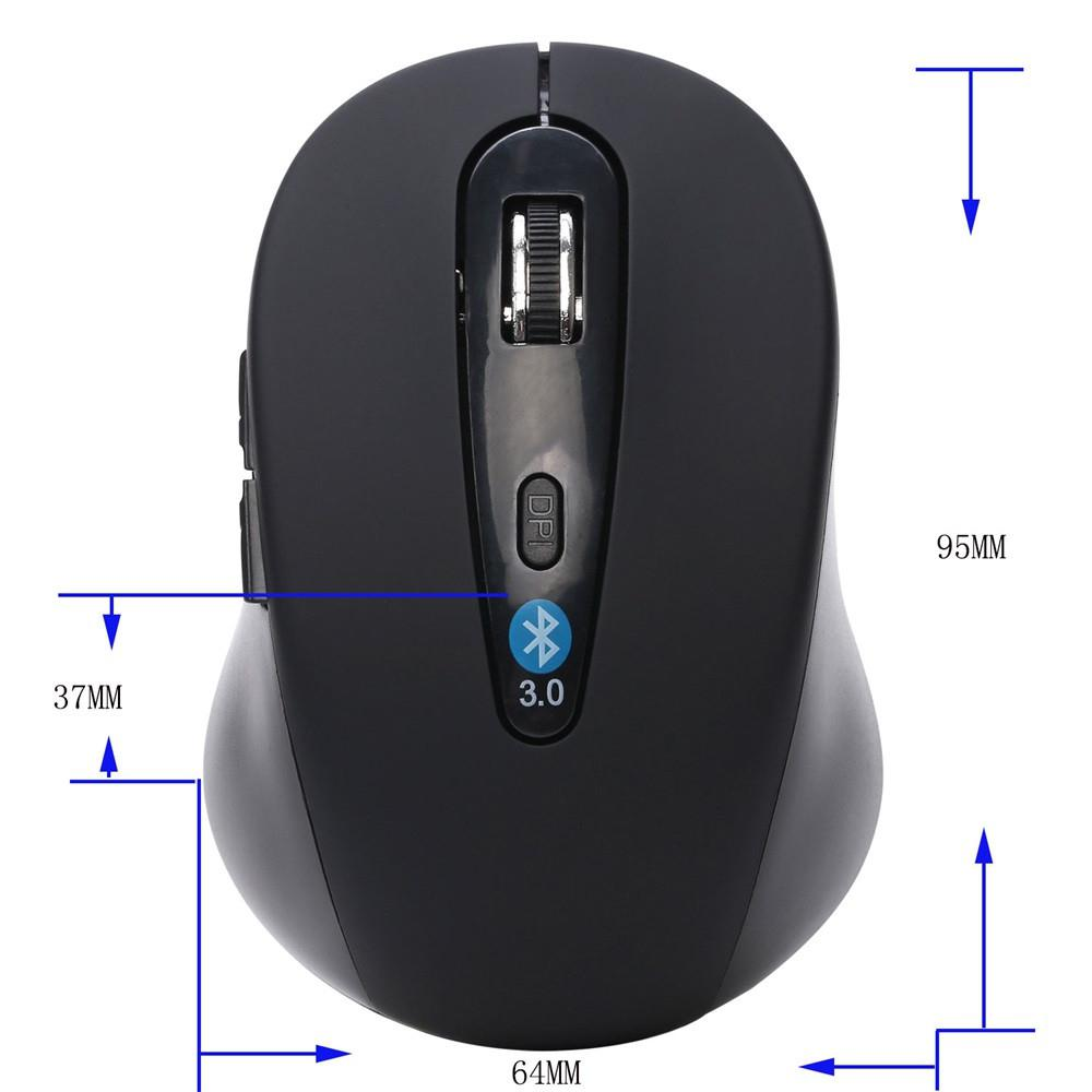 ╡DiscountMini Mouse Wireless Optical Bluetooth Mouse 1600 DPI 6D Gaming Mouse