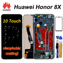 Huawei Original Honor 8X pantalla LCD JSN L21 JSN L42 JSN AL00 JSN L22 pantalla táctil Dizigiter asamblea de Honor 8X parte de LCD