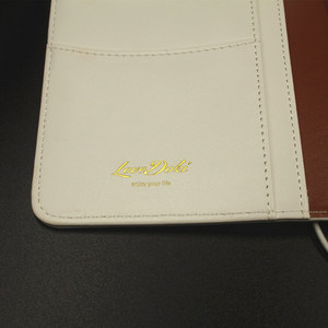 Image 3 - Cuaderno de viajero Lovedoki 2019 tamaño estándar estampado en caliente cubierta Personal planificador diario regalo papelería tienda útiles escolares