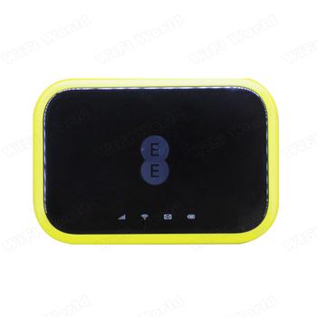 Odblokowany Alcatel EE120 przenośny akumulator 4300mAh usb power bank router wi-fi 4g Cat12 600Mbps 4g lte kieszonkowe wifi router karta sim tanie i dobre opinie Huawei wireless Zewnętrzny Zdjęcie