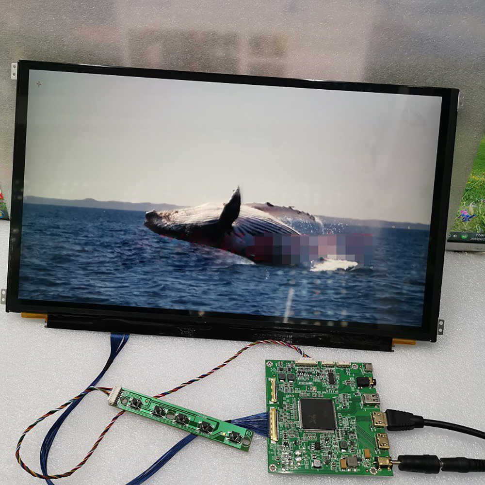 15.6 Inch 4K Capacitive Touch Monitor Diy Kits DLP 3D Printer SLA IPS LCD Screen UV Curing Display 3840*2160 For Raspberry Pi
