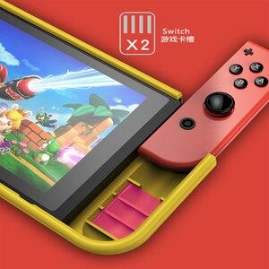 Image 5 - Coque en Silicone pour Nintendo Switch coque de Protection anti choc poignée ergonomique pour Nintendo Switch NS accessoires