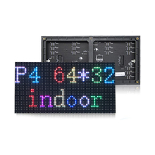 Full color P4 smd led module high resolution indoor rgb led display panel 1/16 scan 256x128mm 64x32 pixel led screen