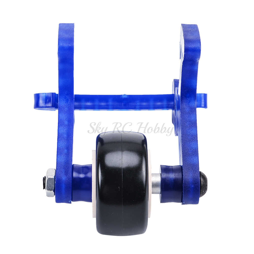 1 Set van Plastic + Metalen High Speed Wheelie Bar Anti-roll Wiel voor HSP 94108 94111 94188 1/10 schaal RC monster Auto Accessoire