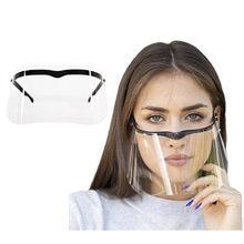 Прозрачные колпачки для рта с защитой от капель для взрослых, прочная маска, многоразовая, можно отсоединить, маска, повторно используемый ш...