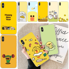 cute cartoon duck animal Quality Phone Case For iphone 6 6s plus 7 8 plus X XS XR XS MAX 11 11 pro 11 Pro Max Cover lovebay geometri customer high quality phone case for iphone 6 6s plus 7 8 plus x xs xr xs max 11 11 pro 11 pro max cover