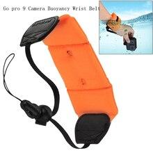 Go Pro 9 Accessories Buoyancy Wrist Belt Diving Floating Wrist Strap for Gopro Hero 9 8 7 6 5 Sports Camera Floating Wrist Belt
