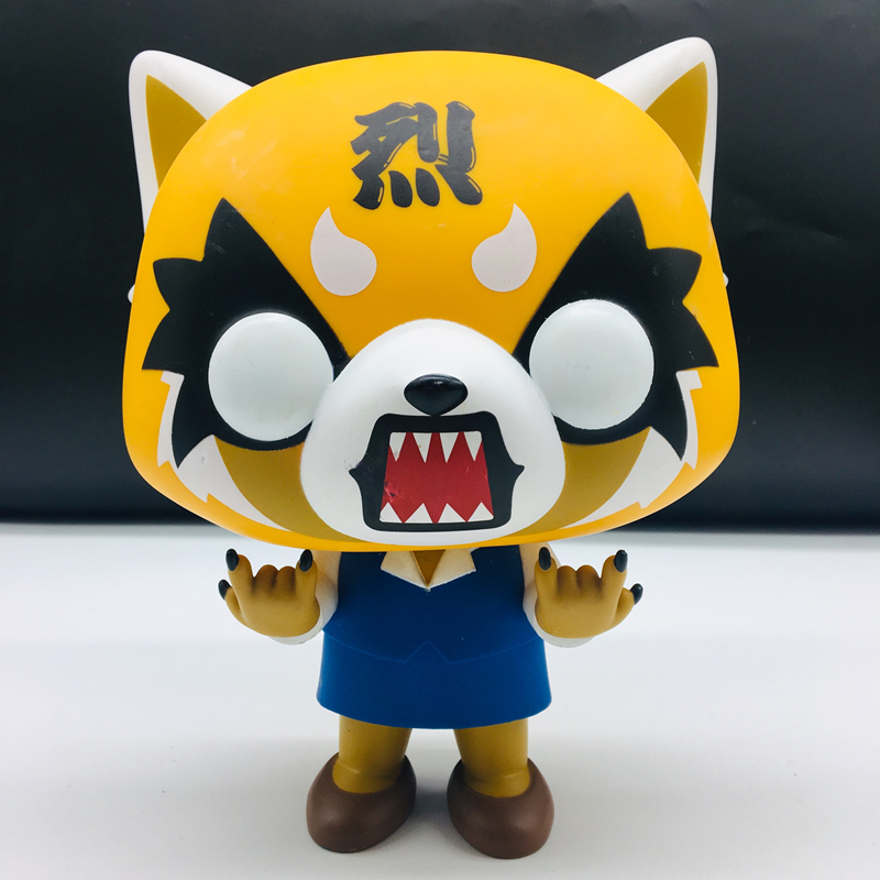 10inch Aggretsuko Rage /Chainsaw /Date Night Reative Vinyl Action Collectible Model Toy For Gifts  Cartoon Figurine