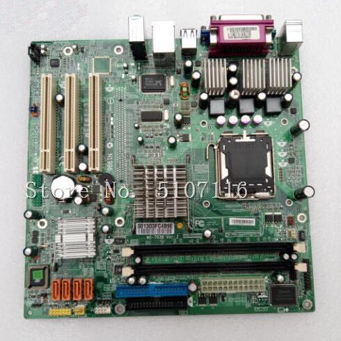 Bilgisayar ve Ofis'ten Anakartlar'de Masaüstü anakart için MS 7036 915GV M4000 M6200 T400 anakart olacak göndermeden önce test title=