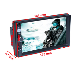 "Image 4 - Podofo reproductor Multimedia con GPS para coche, navegador, Android, 2 din, 7 "", receptor de Audio estéreo, Bluetooth, Universal, para VW, KIA, Hyundai, Toyota"