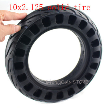 HOT SALE 10x2.125 honeycomb Solid Tyre for Smart Electric Balancing Scooter 10 inch Electric Scooter Tubeless Wheel solid tire 10inch 10x2 125 electric scooter balancing hoverboard self smart balance tire 10 inch tyre with inner tube