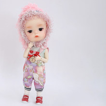 Boneca bjd 1/8 mong ming secretdoll bjd articulado boneca resina brinquedos para crianças presente surpresa para meninas bonito do bebê bjd clube presente