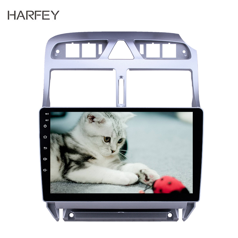 Harfey <font><b>2din</b></font> GPS car Multimedia player Android 8.1 <font><b>for</b></font> <font><b>Peugeot</b></font> <font><b>307</b></font> 2007-2009 2010 2012 2013 GPS Navigation Head unit car <font><b>Radio</b></font> image