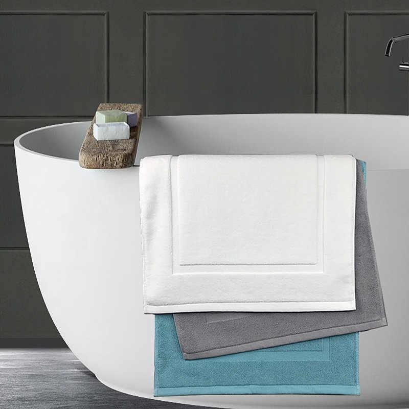 HOTEL QUALITY BATH MAT 100/% COTTON MODERN BATHROOM TOWEL RUG BATH MATT 50 x 80CM