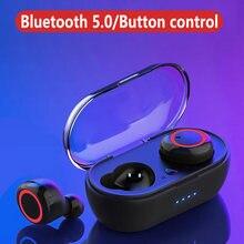 Tws bluetooth fone de ouvido sem fio fones de alta fidelidade estéreo bluetooth fone de ouvido esporte com caixa carregamento para smartphone