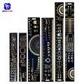 Линейка печатной платы diymore 3 типа, многофункциональный измерительный инструмент, резистор, конденсатор, чип IC SMD, диодный транзистор, 15 см, 20 ...