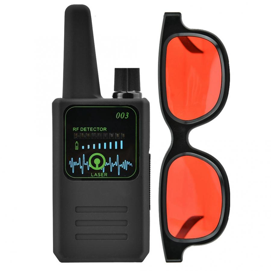 Image 3 - M003 Multi function Anti Espionage Anti tracking Camera Wireless Signal Detector with Glasses New-in Anti Candid Camera Detector from Security & Protection