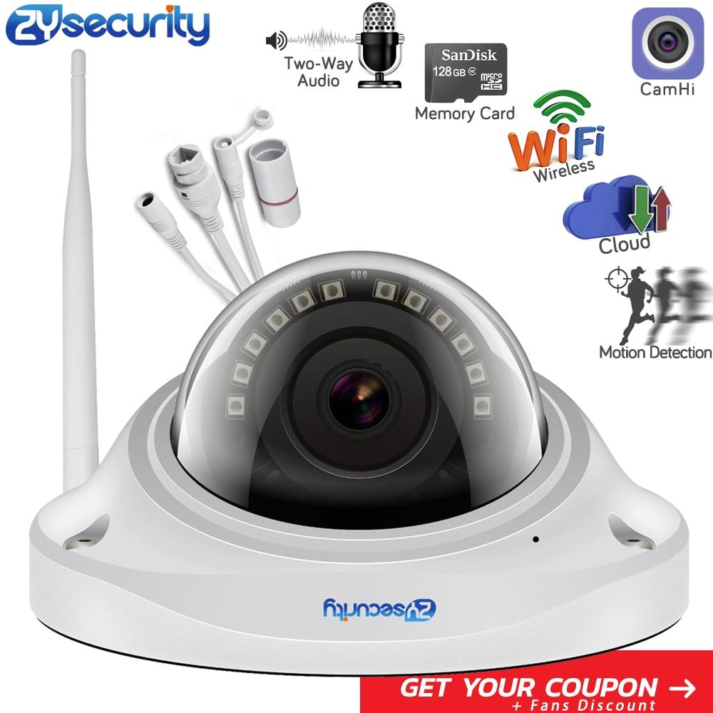 Caméra Wifi ZYsecurity 1080p caméra CamHi App Onvif 20m Vision nocturne anti-vandalisme carte SD alarme Audio bidirectionnelle sécurité à domicile caméra CCTV