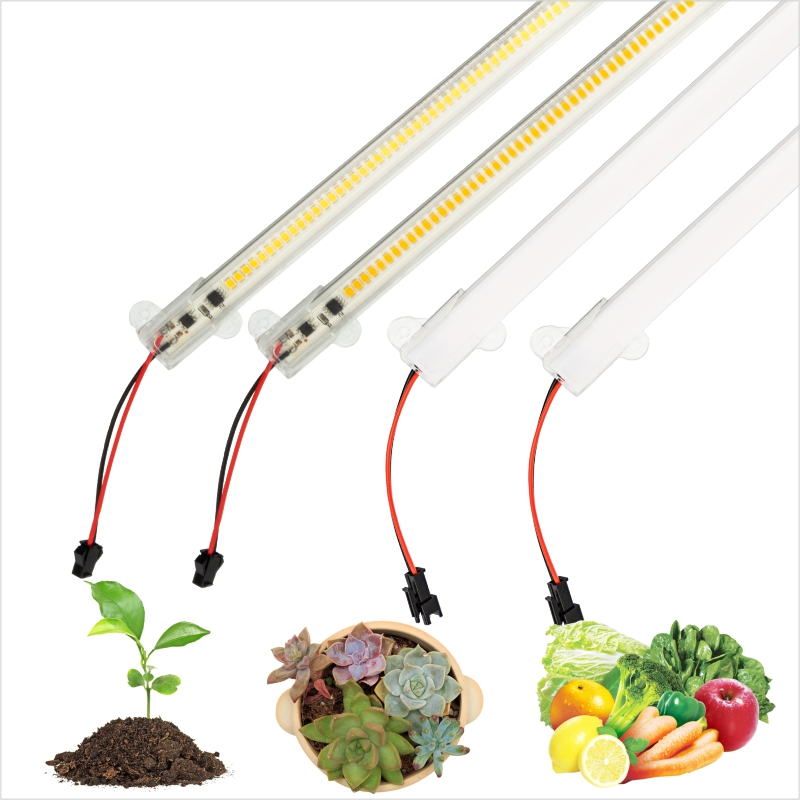 Grow Phyto Bar Lamp 220V Full Spectrum LED Tube Light For Plants High Luminous Efficiency For Grow Tent Greenhouses Flowers Seed