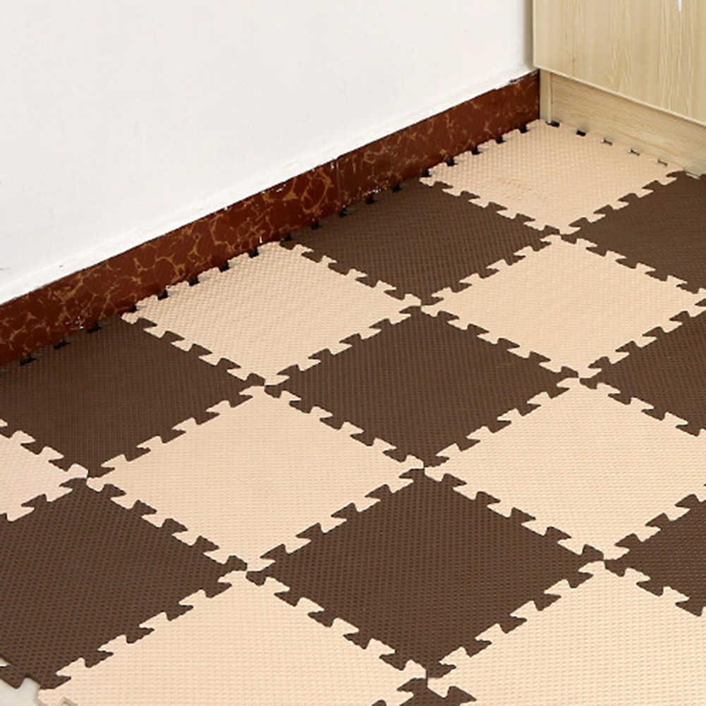 30x30cm EVA tapis de sol en mousse tapis de jeu pour enfants décoration de chambre anti-dérapant Puzzle tapis de jeu tapis de porte épais bébé ramper jouet de jeu