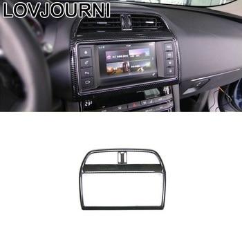 Control System Gear Steering Wheel Panel Interior Automovil Decorative Trim Sticker Strip Modification 18 19 FOR Jaguar F-PACE