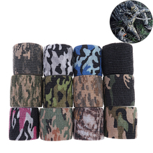 Durable Army Camo Outdoor Hunting Shooting Blind Wrap Camouflage Stealth Tape Waterproof Wrap 5cmx4.5m 12 Colors