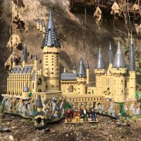 16060 Castle Model Movie Castle Magic Model 6742Pcs Building Block Bricks Toys Children Gift Compatible Legoinglys City 71043