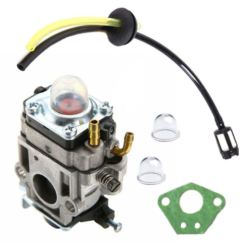 15mm Carb Carburetor Kit For Various Strimmer Hedge Trimmer Brush Cutter Chainsaw Parts Accessories Carburetors