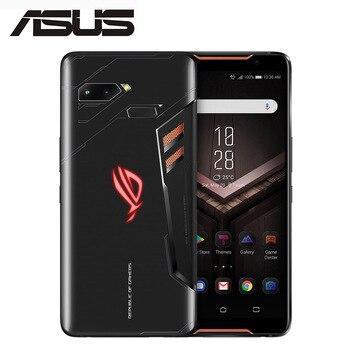 "Original ASUS ROG Phone ZS600KL 4G Phone 8GB RAM 512GB ROM Snapdragon 845 Octa Core 4K UHD 6.0""1080x2160 4000mAh NFC Android 8.1"