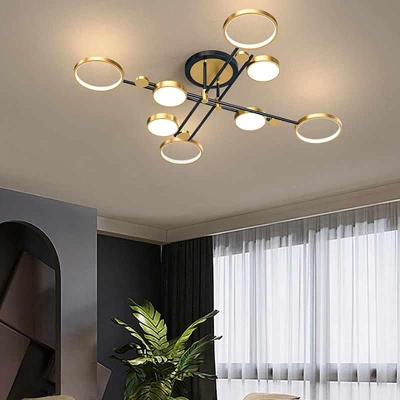 Nordic Chandelier Kitchen Light Fixtures Living Room Dinning Room Hotel 3 Lights Dimmable Light Led Decoration Lamp 110v 220v Chandeliers Aliexpress