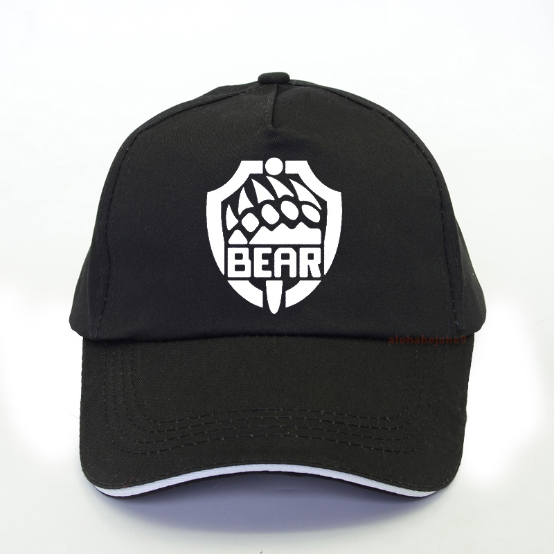 Escape From Tarkov Men Baseball Caps Fashion Cool Summer Unisex Trucker Caps Bear Catch Print Hip Hop Snapback Hat Bone