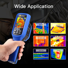 In Stock XEAST Quick Shipment  Handheld Thermal Imaging Camera 60x60 Resolution 3600 Pixel Digital Display Thermal Imager