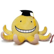 Anime Korosensei Assassination Classroom Leraar Cosplay Mini Pluchen Speelgoed Gevulde Doll Gift Collection Soft Pp Katoen 15Cm 2019New(China)