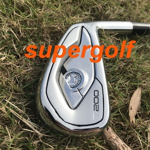 Image 2 - 2020 New golf irons high quality T200 irons Forged set ( 4 5 6 7 8 9 P 48 ) with dynamic gold S300 steel shaft 8pcs golf clubs