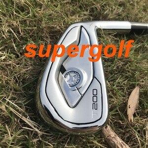 Image 2 - ¡Novedad de 2020! Hierros de golf de alta calidad T200, juego forjado (48 7 8 9 4 5 6 P) con eje de acero dinámico dorado S300, 8 Uds.