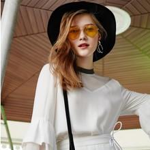 Высокое качество HD унисекс модные зеркальные солнцезащитные очки для пилота солнцезащитные очки желтые очки ночного видения для мужчин и женщин