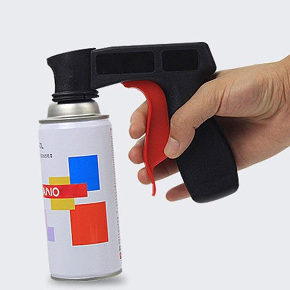 1 PC Spray Gun Adaptor  Car Care Accessories Paint Care Aerosol Handle With Full Grip Trigger Locking Collar Car Maintenance