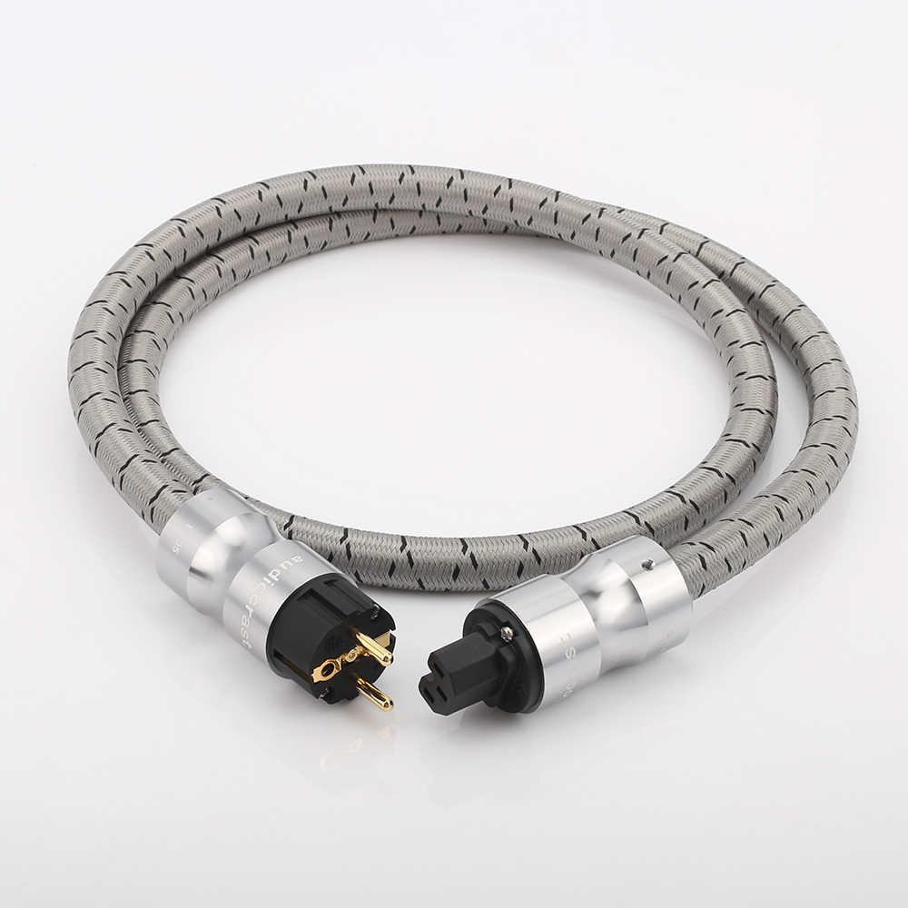 Audiocrast P105 HIFi güç kablosu CRYO-156 abd AC güç kablosu güç kablosu ses CD amplifikatör AMP abd güç kabloları ab abd fiş kablosu